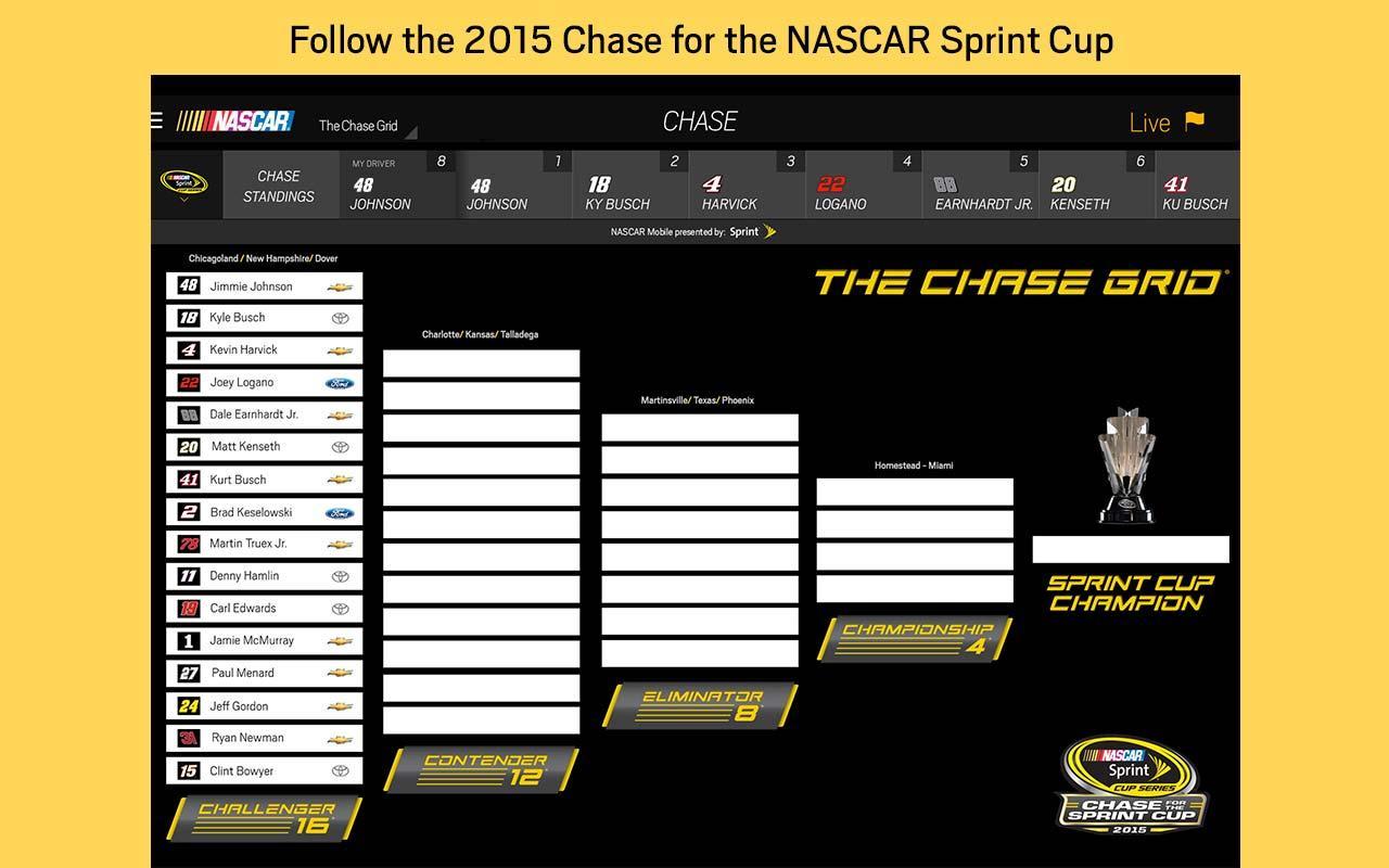 NASCAR MOBILE- screenshot