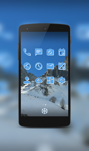 android IcyPeak CM12.1 Theme Screenshot 3