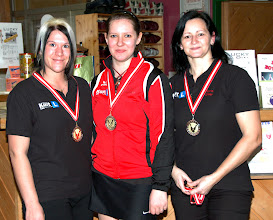 Photo: LM Trio Damen - 3. Platz BC Diavolo