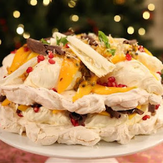 Tropical Meringue Cake