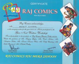 Photo: Raj Comics Gen-Next Writers Workshop (2008)