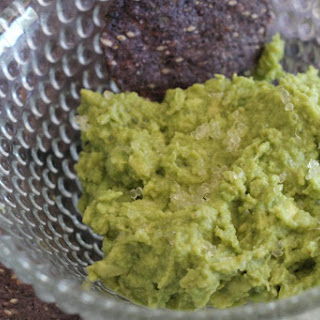 Guacamole with Finger Lime Bursts Recipe