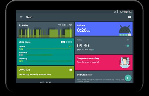 Sleep as Android: Sleep cycle tracker, smart alarm  screenshots 17
