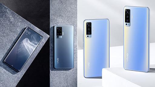 Vivo's X50 and X50 Pro smartphones.
