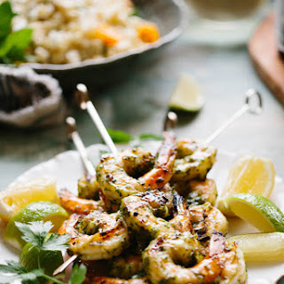 Citrus Herb Grilled Shrimp Recipe