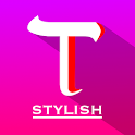 Stylish Text and font generator : cool chat styles icon