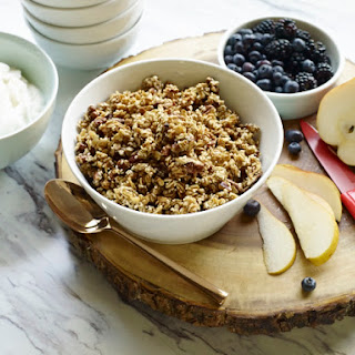 Baked Maple Pecan Granola Recipe