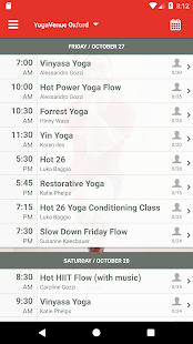 YogaVenue Oxford- screenshot thumbnail