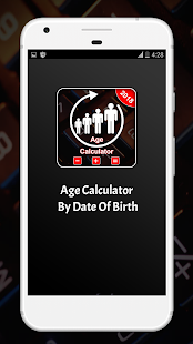 Download Age Calculator By Date Of Birth (Days, Months) For PC Windows and Mac apk screenshot 1