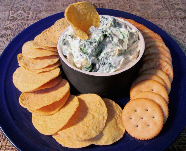 Olive Garden Hot Artichoke-Spinach Dip Reduced Fat/Calorie Recipe ...