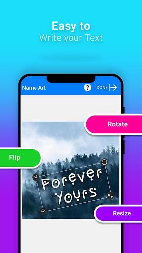 Name Art - Focus Filter - Name Card Maker 1.1.4 screenshots 5