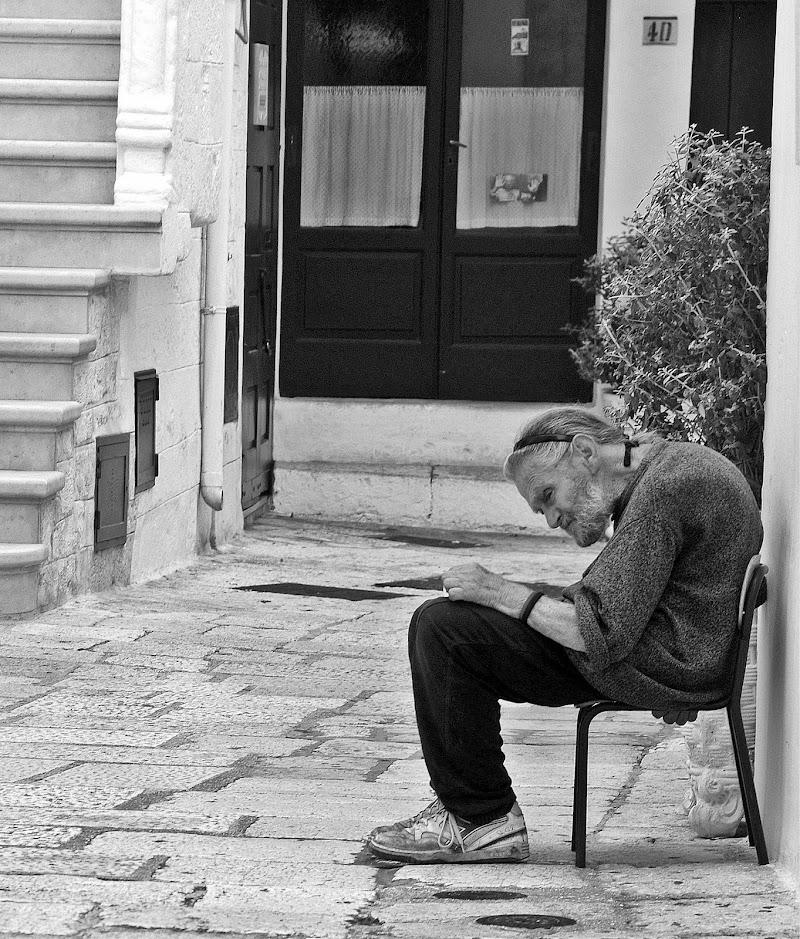 Solitudine malinconica di Luciano Fontebasso