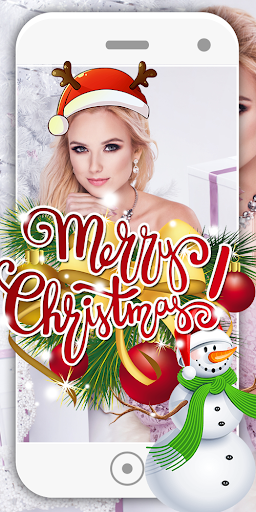 Merry Christmas Editor Face Camera 6.1 screenshots 17