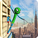 Stickman Rope Hero - Amazing Spider Crime City - Androidアプリ