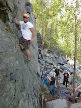 Photo: Climbing near Rossland BC