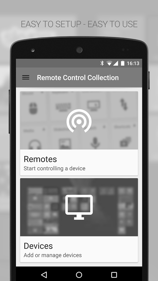Mouse & Keyboard Remote - screenshot