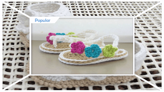Adorable Crochet Baby Booties - náhled