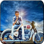 Bullet Bike Photo Editor Icon