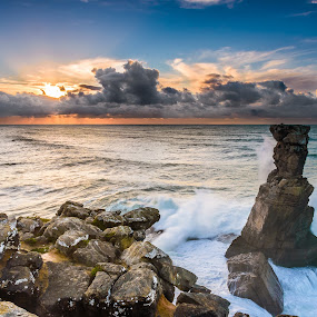 Storm on the way by Nuno Gomes - Landscapes Sunsets & Sunrises ( naucorvos, peniche, portugal )