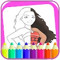 Coloring book maona by extragames APK