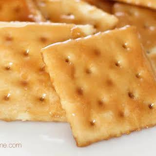 Saltine Cracker Toffee.