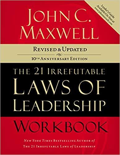 "Livro ""The 21 Irrefutable Laws of Workbook"""