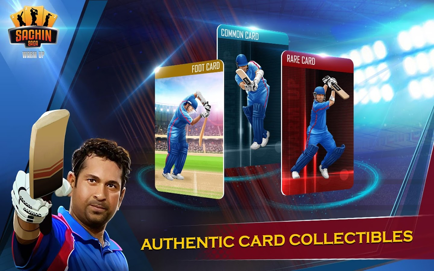 Sachin Saga Warm Up- screenshot