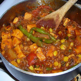 Winter Vegetable and Chorizo Stew