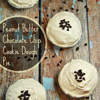 Peanut Butter Chocolate Chip Cookie Dough Pie