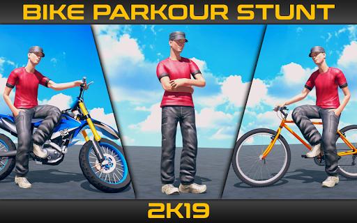 Bike Parkour Stunts 2019 1.4 Mod screenshots 1