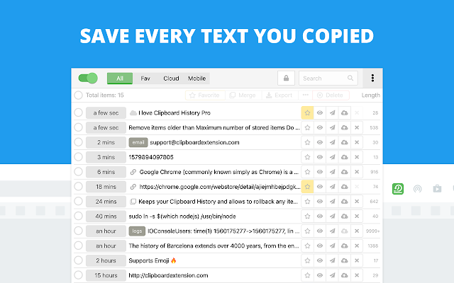 Clipboard History Pro: best productivity tool