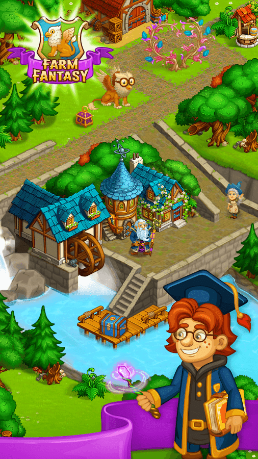 Farm Fantasy: Happy Magic Day in Wizard Harry Town- screenshot