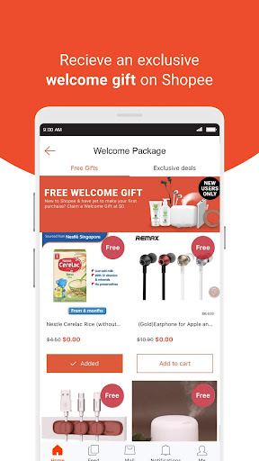 Shopee SG: 15% Cashback - screenshot