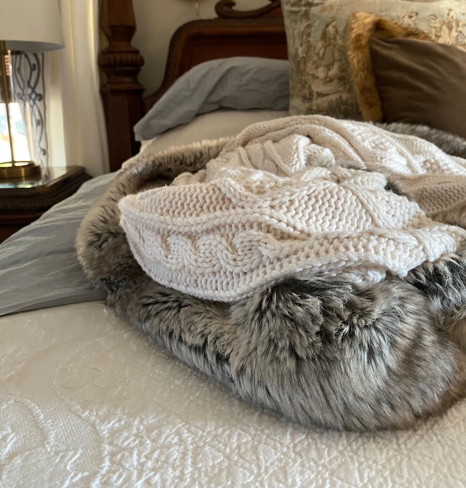 thick blankets knit faux fur boll & branch sheets pillow