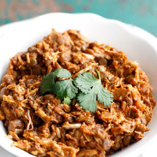 Crockpot Indian Chicken and Lentils.