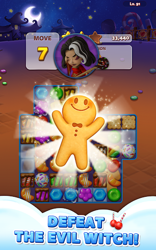 Sweet Road: Cookie Rescue Free Match 3 Puzzle Game  screenshots 13