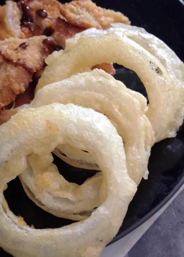 Beer Tempura Onion Rings Recipe