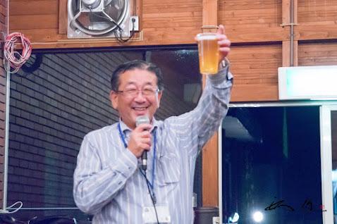 西山村長の乾杯!でスタート!