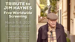 Cartel de las proyecciones abiertas en recuerdo a Jim Haynes.
