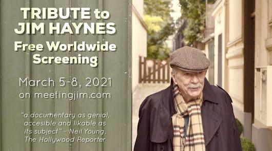 El documental 'Meeting Jim', en abierto para recordar al fallecido Jim Haynes