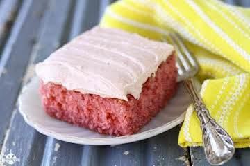 Best Strawberry Sheet Cake - Southern Bite