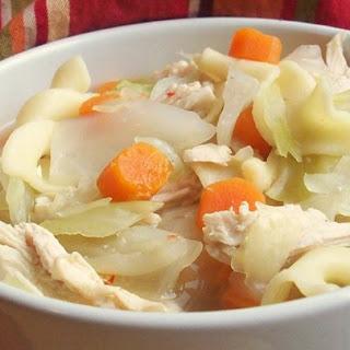 Thai Chicken Cabbage Soup.
