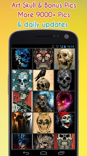 Skull Wallpaper 1.5 screenshots 1