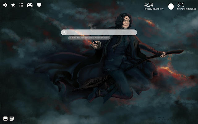 Professor Snape Wallpaper Snape Theme Chrome Web Store