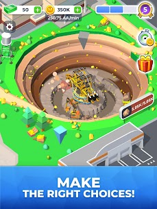 Mining Inc MOD APK 1.6.3 [Unlimited Money & Gold] 8