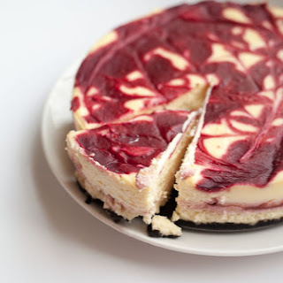 White Chocolate Raspberry Cheesecake Recipe