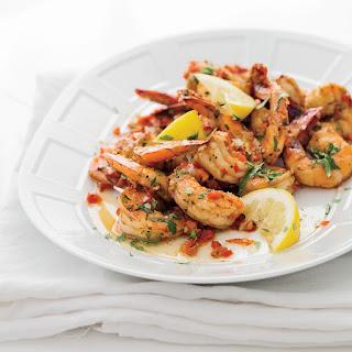 Creole Shrimp with Garlic and Lemon.