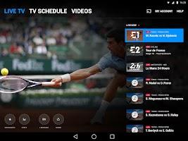 Screenshot of Eurosport Player