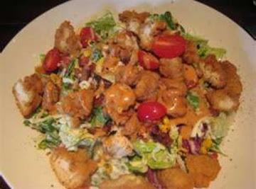 Crispy Chicken Salad By Freda Recipe