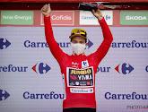 Primoz Roglic heeft opnieuw een overwinning geboekt in de Vuelta en is meteen ook de nieuwe leider